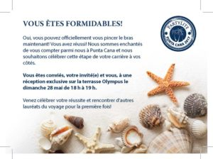Party Lite Invitation-French