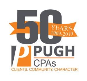 Pugh-50th Logo
